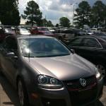 Car with Antenna