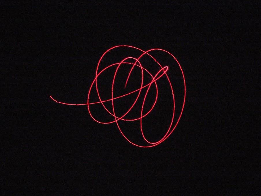 Laser Show Sound Pattern